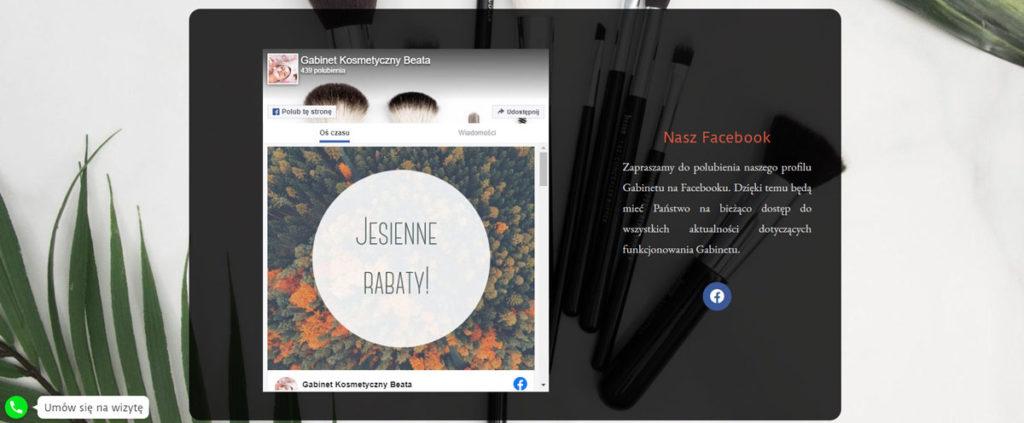 Facebook Gabinet Kosmetyczny Beata Brodnica