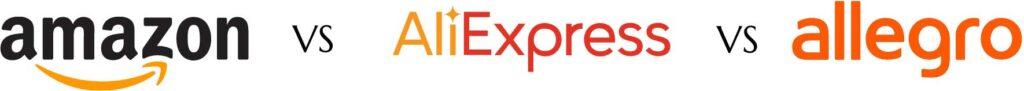allegro-amazon-aliexpress logo