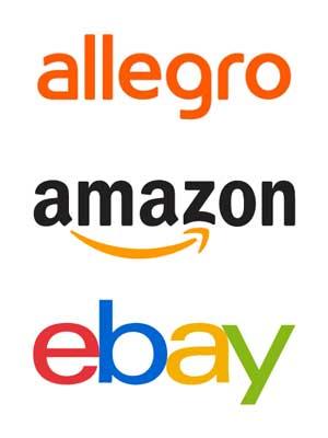 Allegro, Amazon, eBay